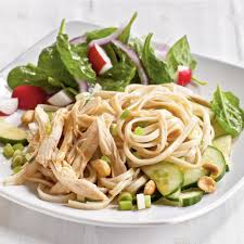 thanksgiving noodles recipe cold sesame noodles with chicken and cucumbers recipe myrecipes