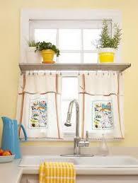 Kitchen Window Curtain Ideas by Farmhouse Kitchen Decor Burlap Sack Curtain Ig Bless This Nest
