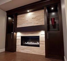 Built In Electric Fireplace Ideas For Contemporary Fireplace With Built Ins And Tv Nook