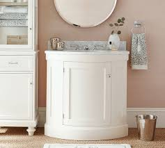 Nickel Finish Bathroom Accessories by Hammered Nickel Bath Accessories Pottery Barn