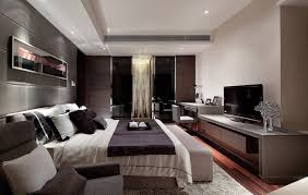 Minimal Bedroom Minimalist Bedroom Luxury Design Combined With Modern Television