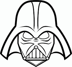 vader coloring pages