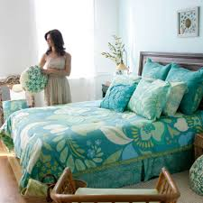 themed bed sheets nautical themed bedding set with floral pattern turquoise bed