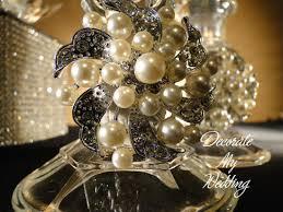decorate my wedding pearl rhinestone wedding brooches