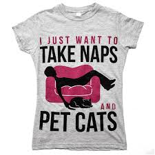 naps and cats u0027 tee gifts for cat lovers u2013 animal hearted apparel