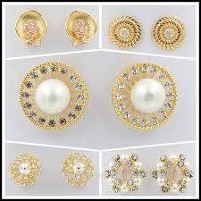 stylish gold earrings fashionable gold earring models design diamond earring