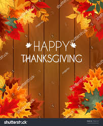 abstract illustration autumn happy thanksgiving background stock