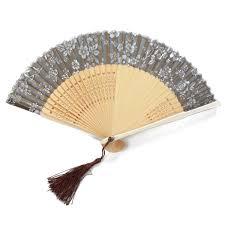 handgemachte chinesische falten bambus silk blumen muster