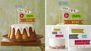banner cake topper birthday cake toppers hallmark ideas inspiration