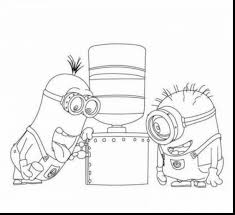 awesome despicable coloring minions wecoloringpage