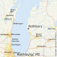 map of rothbury best places to live in rothbury michigan
