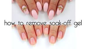 how to remove soak off gel madam glam soak off gels youtube