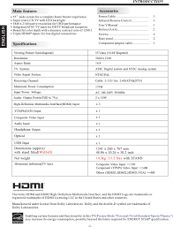 5534580 led tv user manual shen zhen mtc co ltd