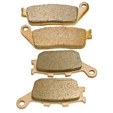 amazon com front and rear sintered brake pads for honda vtx 1300