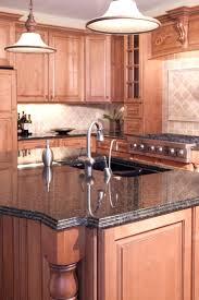 kitchen island granite top designs countertop overhang support