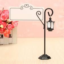 Vintage Table Number Holders Wedding Miniature Vintage Streetlight Table Marker Holder Clips