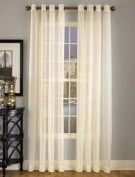 Grommet Kitchen Curtains Splendor Sheer Grommet Top Curtains Are Made With Batiste Fabric