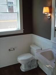 wainscoting ideas for bathrooms wainscoting small bathroom home design plan