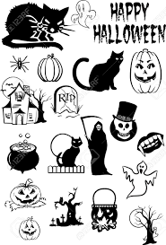 vector halloween halloween silhouettes royalty free cliparts vectors and stock
