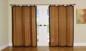 Glass Door Curtains Awesome Bamboo Sliding Glass Door Curtains Ideas Simple