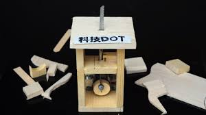 how to make a powerful electric jigsaw diy table saw 自制电动往复