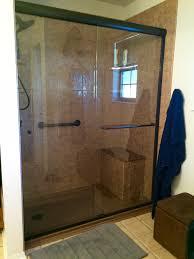 shower bathroom shower doors wonderful 5 foot shower doors best
