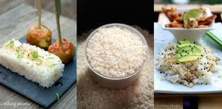 cuisiner avec un rice cooker riz japonais vinaigré pour sushis