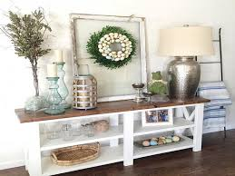 christmas decorations for sofa table living room sofa table decor new 17 best ideas about console table