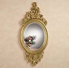 extraordinary gold oval small decorative wall mirrors with amazing
