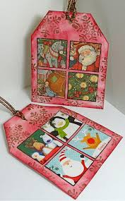 lisa liza lou designs how to recycle old christmas cards into