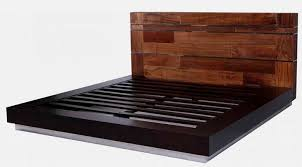 Wood Platform Bed Recycled Wood Platform Bed Woodland Creek Furniture