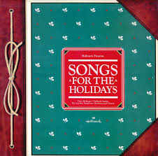 hallmark songs for the holidays 627xpr vinyl record