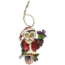 Jim Shore Dated Christmas Ornaments by Amazon Com Jim Shore Heartwood Creek Christmas Owl Stone Resin