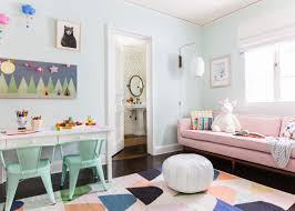 a playful and bright playroom reveal emily henderson