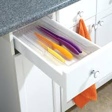 kitchen cabinet knife drawer organizers kitchen knife drawer organizer skyskywaitress co