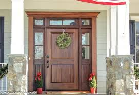 Wood Exterior Entry Doors Modern Wood Exterior Doors Mahogany Entry Doors Clingerman