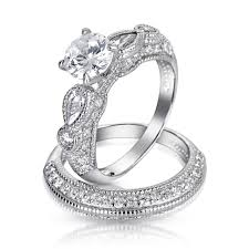 wedding ring sets for him and cheap wedding rings cheap bridal sets wedding ring sets his and hers