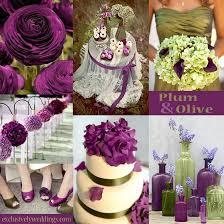 unique wedding colors plum wedding color four fantastic choices exclusively weddings