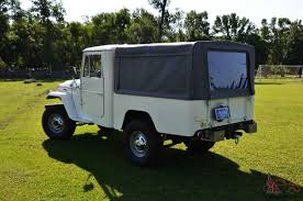 icon 4x4 fj40 rare fj40 fj45 toyota land cruiser short bed pickup serviced by