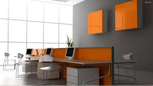 colors for my office perhaps 3 walls in orange one in grey