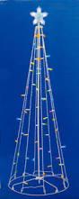 Lighted Outdoor Christmas Displays by 5 U0027 Multi Color Led Lighted Multi Function Outdoor Christmas Tree