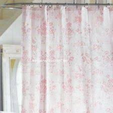 Flower Drop Shower Curtain Shower Curtains Ebay