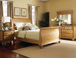 Pine Bed Set Hillsdale Htons Weathered Pine Bedroom Set