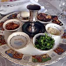 passover items each of the six items arranged so on the seder plate has special