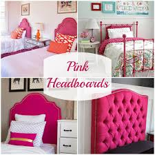alluring pink headboard easy home decoration planner with