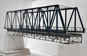 architectural model kits 1 87 model train ho scale elevated railway bridge diy kit