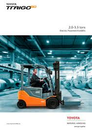 toyota traigo 80 brochure toyota material handling pdf