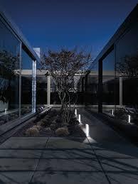 garden bollard light contemporary metal led portfolio by