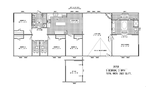 100 fleetwood mobile homes floor plans 1997 green hill