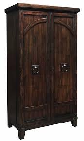 distressed wood bar cabinet howard miller 695122 rogue hide a bar wine spirits storage cabinet